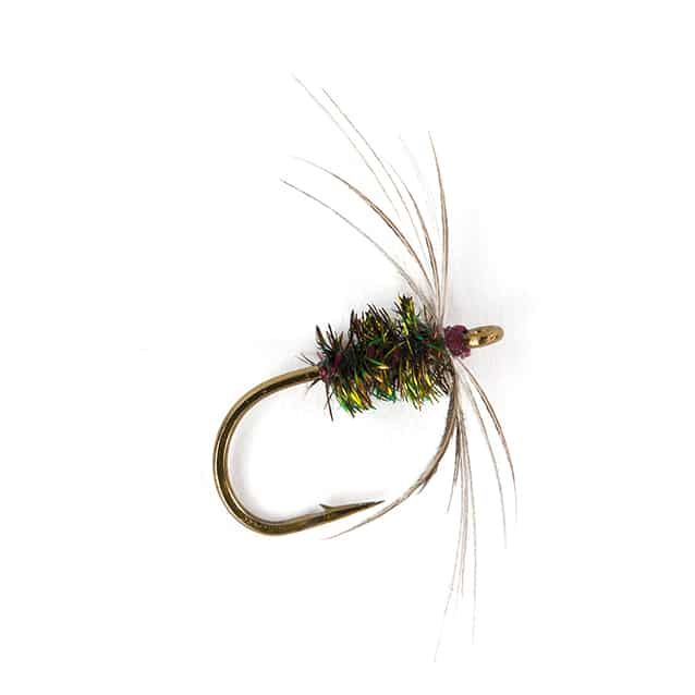 The Lost Flies of the Yorkshire Dales - Blades Purple Dun
