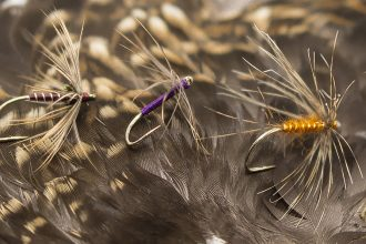 Snipe Hackle for north country spiders