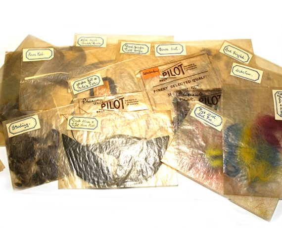 North Country Spiders Flytying Material Collection