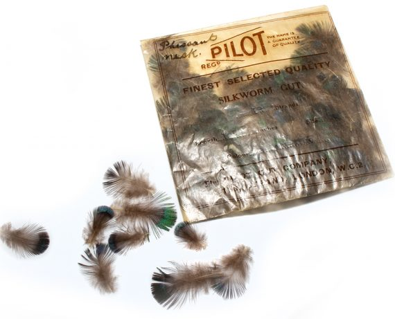 North Country Spiders Flytying Materials Pheasant Mask Hackles