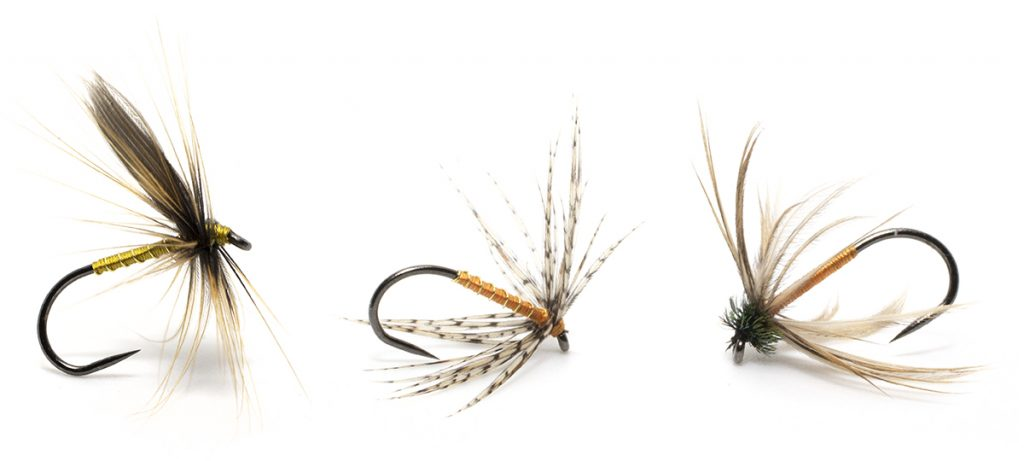 north country spiders for fishing northern streams
