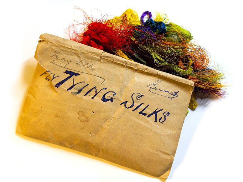 Vintage Flytying Silks
