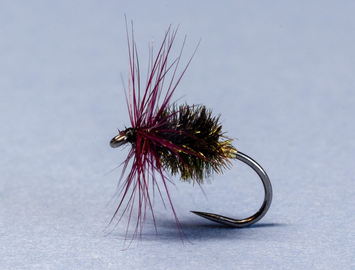 Walbran's Gold Tag Grayling Fly